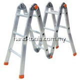 YMPRH08 *SIRIM* ALUMINIUM LADDER MULTI PURPOSE LADDER 08*MADE IN MALAYSIA*A' Type Height 1279/4.20ft