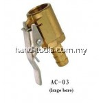 European style clip-on air chuck,