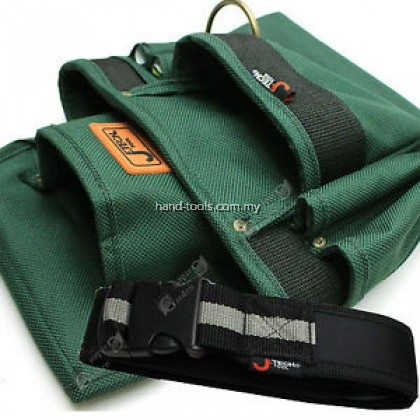ba-m3 7 Pockets Nylon Carpenters Tool Pouch c/w Work Belt