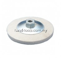 "4""/100mm xM10x1.5 FELT BUFFING DISH Max.RPM12500"
