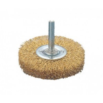 "50mm-2"" Wire Wheel Brushes With 6mm Shank"
